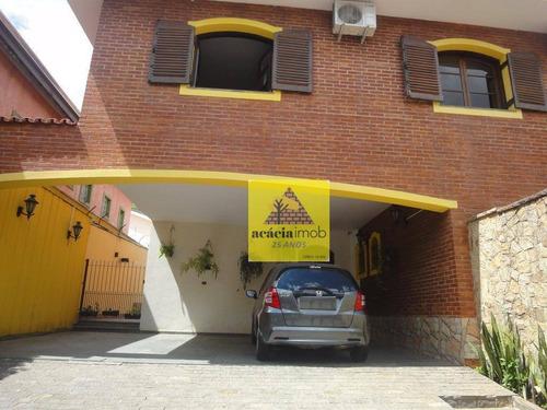 Imagem 1 de 30 de Sobrado Com 4 Dormitórios Para Alugar, 390 M² Por R$ 6.900,00/mês - Parque São Domingos - São Paulo/sp - So1957