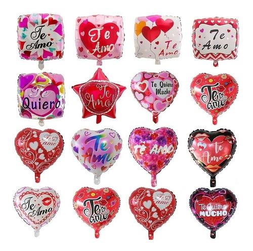 Globos Amor, Amistad, Feliz Día Enamorados Te Quiero Madres