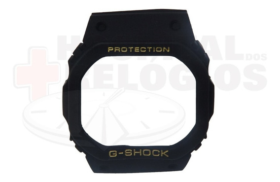 Capa Bezel Casio G-shock Dw-5600 Dw-5200 Dw-5000 Serie Ouro