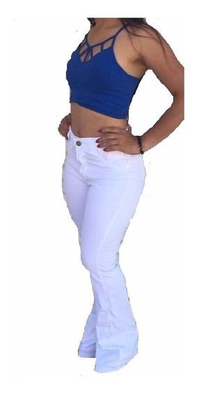 Calça Jeans Flare - Cintura Alta - Hot Pants Linda