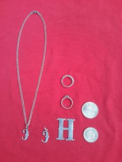 Vendo Todo En Plata,cadenas,sortijas,anillos,dijes.monedas