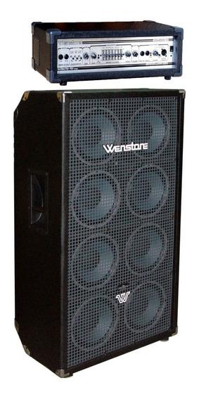 Cabezal Wenstone Be3000h 300 Watts + Caja Wenstone B810 E