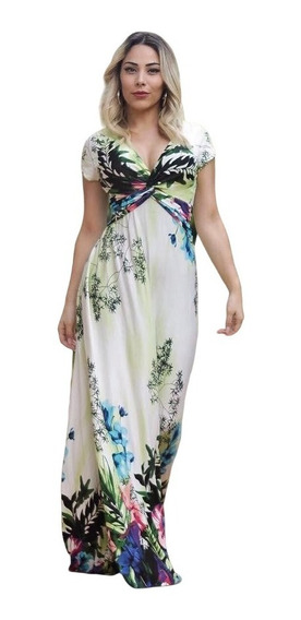 Vestido Feminino Longo Do Gg 44 Ao Xg 48 Plus Size!