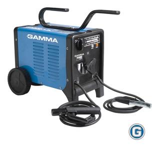 Soldadora Eléctrica Gamma Turbo 265 Máquina Soldar Elect 4mm