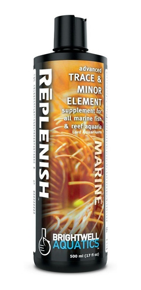 Replenish Brightwell 500ml Traco E Micro Elementos Para Reef
