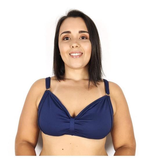 Biquíni Plus Size Avulso Sutiã Elegante Sem Bojo - 46 Ao 52