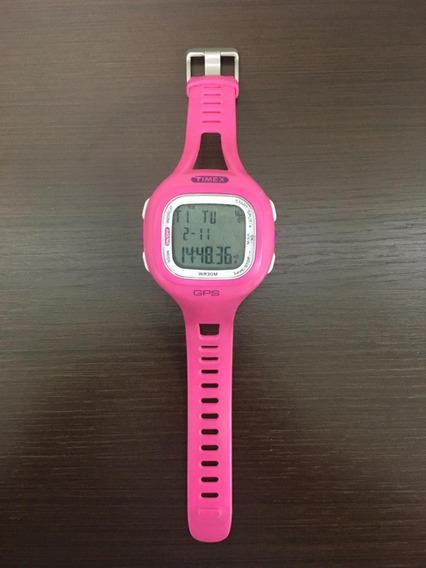 Relógio Timex M434 Marathon Gps - Rosa