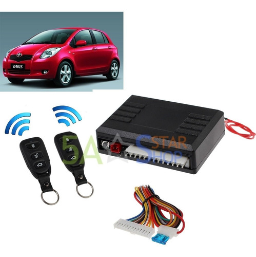 Imagen 1 de 6 de Universal Car Auto Remote Central Kit Control Box Cerradura
