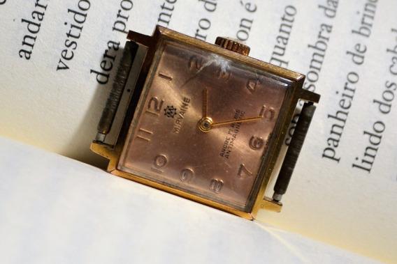Relógio Antigo Mirvaine Ancre 17 Rubis Antimagnetic