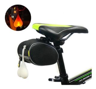 Luz Led De Advertencia Trasera Para Bicicleta Bolas Del Toro