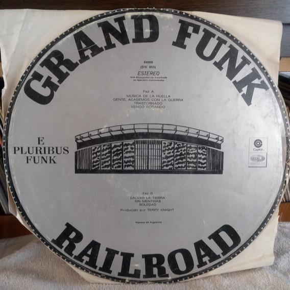 Grand Funk Railroad E Plurirus Funk Tapa 7.5 Vinilo 8.5 Pts