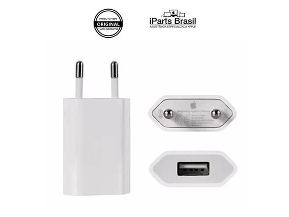 3 Carregador Original iPhone 5 5s 6 6s 7 8 Plus X Apple ® Br