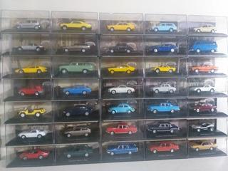 Coleção Com 34 Carros Inesquecíveis Do Brasil Escala 1/43