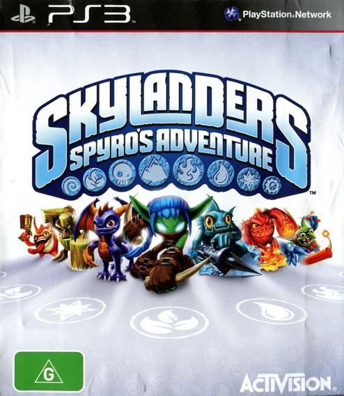 Jogo Skylanders Spyros Adventure Playstation 3 Ps3 Frete Gts
