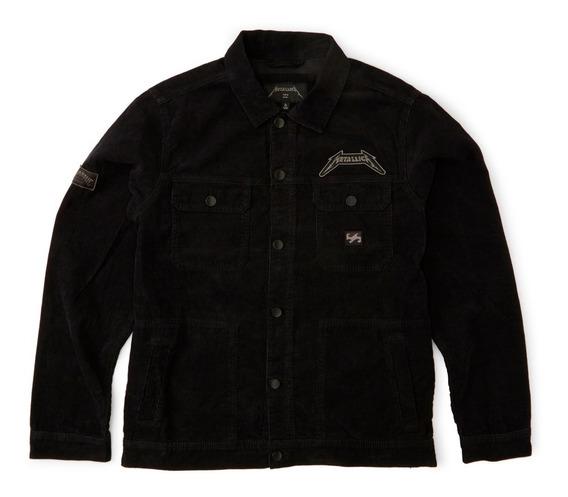Campera Billabong Metallica Black Album Jacket M713wbbl
