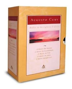 Box Coleção Análise Da Inteligência De Cristo (5 Livros)