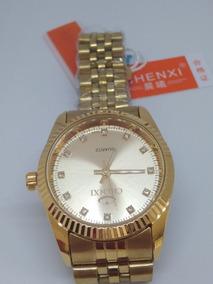 Relógio Feminino Analógico Chenxi Original Inox + Brinde!!!!