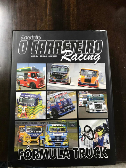 Revista O Carreteiro Racing Fórmula Truck Catalogo,folder