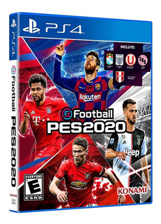 Pes 2020 Ps4 100% Original Sellado + Póster De Regalo