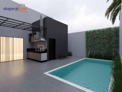 Imagem 1 de 3 de Casa À Venda, 166 M² Por R$ 850.000,00 - Condomínio Terras Do Vale - Caçapava/sp - Ca3844