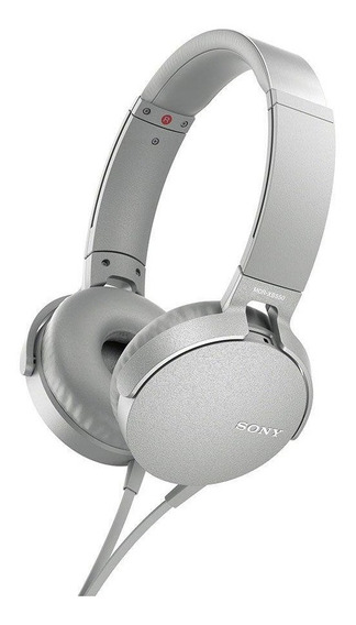 Headphone Com Microfone Sony Mdr-xb550 Extra Bass Cabo P2