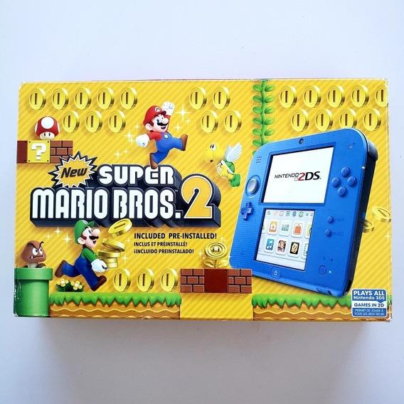 Nintendo 2ds New Super Mário Bros 2 Na Caixa + 175 Jogos
