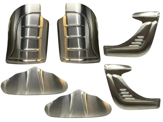 Polainas Borboleta Fusca 70 A 96 Modelo Asa Aluminio