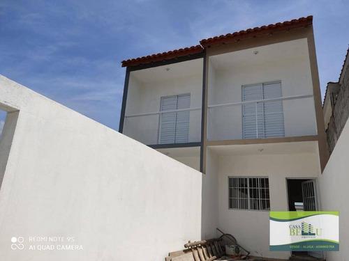 Casa Com 2 Dormitórios À Venda, 66 M² Por R$ 230.000,00 - Jardim Santo Antonio - Franco Da Rocha/sp - Ca0393