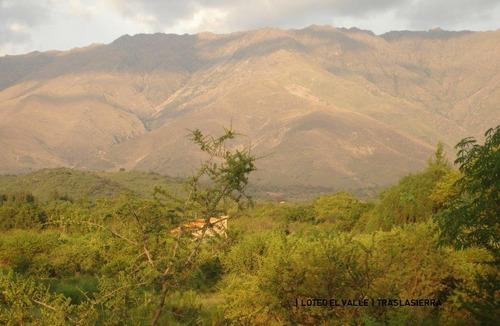 Terrenos En Venta En La Población, Traslasierra, 3200 M2