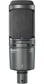 Paq Audiotechnica De Estudio Lateral At2020 Usb +