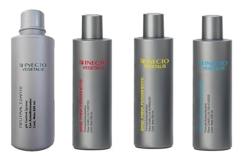 Liquido Permanente Y Neutralizante X 500ml C/u - Inecto