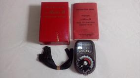 Fotômetro Weston Master Ii Model 735 - Raridade !!!