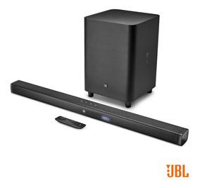 Soundbar Jbl Bar 3.1 Barra De Som Ultra Hd Subwoofer Sem Fio