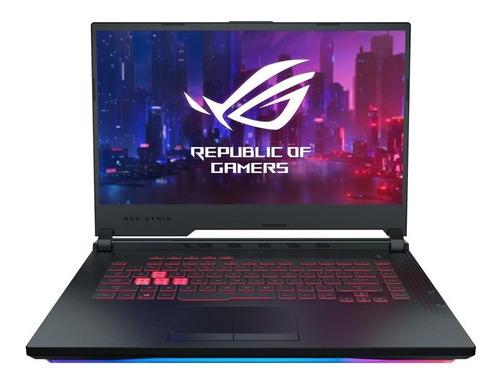 "Imagen 1 de 4 de Notebook Asus ROG Strix G G731GU negra 17.3"", Intel Core i7 9750H  16GB de RAM 512GB SSD, NVIDIA GeForce GTX 1660 Ti 144 Hz 1920x1080px Windows 10 Home"