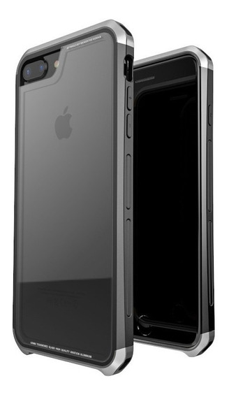 Funda Para iPhone 7 Plus / 8 Plus Hdx Case Cristal Templado