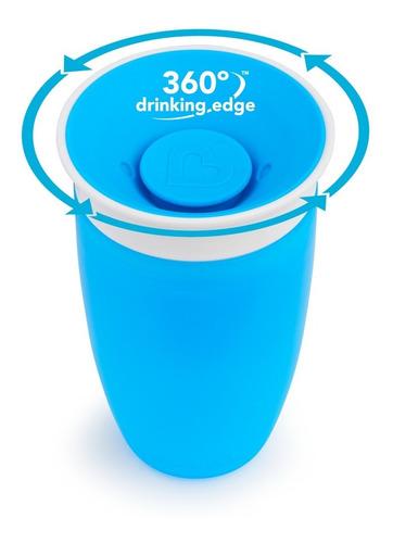 Vaso Entrenador Munchkin Miracle Cup 10 Oz Azul