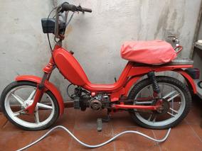 Zanella 50cc Ciclomotor Roja