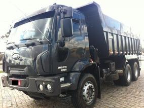 Ford Cargo 2629 Traçado 2014 C/ Caçamba Basculante 14m³