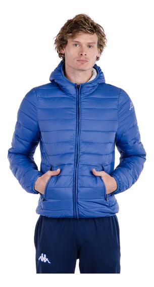 Campera Logo Astro Jacket Azul Hombre Kappa