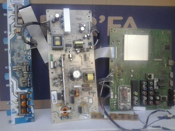 Placa Principal Tvsony Kdl 32bx 305 Placas Completa Novas + 2 Altofalants De Brind