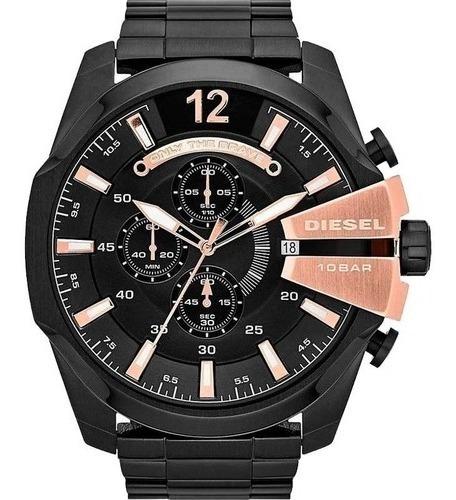 Relógio Diesel Dz4309 Preto Original Completo Com Caixa