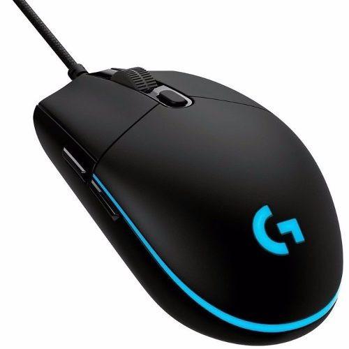 Mouse Logitech G Pro Gaming Rgb 12000dpi * Lançamento *