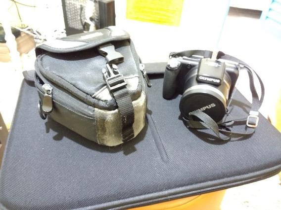 Camera Semi Pro Olympus Sp 800uz Com Capa