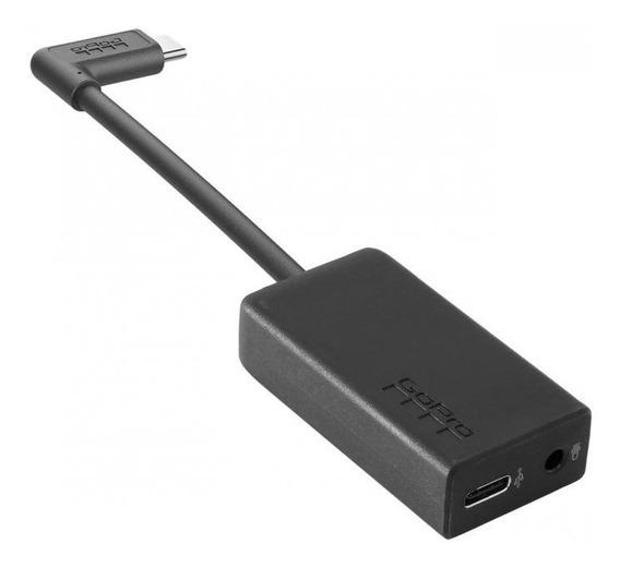 Adaptador Microfone 3.5mm Hero 5 6 7 Black Original Gopro