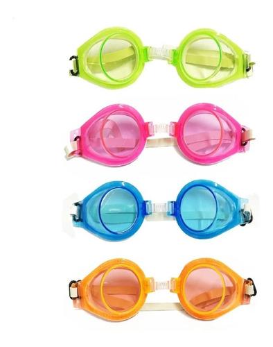 Imagem 1 de 1 de  Óculos De Natação Com Protetor Mergulho Diversão Infantil