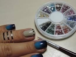 Arte Pedrinhas Decorativas Unha Manicure Strass Perolas