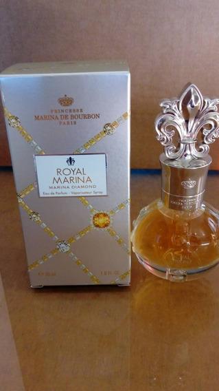 Perfume Royal Marina Bourbon Diamond Feminino Original 30ml