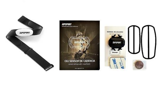 Pack Oferta Banda Cardíaca + Sensor De Cadencia