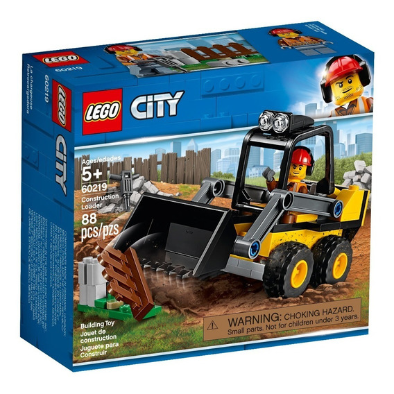 Lego® City - Retrocargadora (60219)