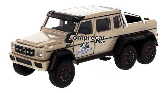 Miniatura Mercedes Benz G63 Amg 6x6 Jurassic World 1/24